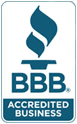 BBB Accredited  With an A rating!